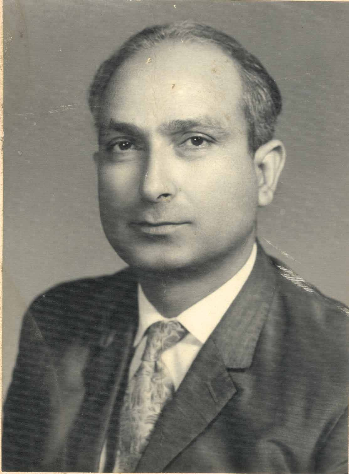 late Muhammad Hayat,Founder Editor,International Press Service.